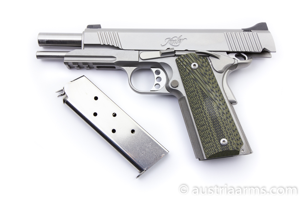 Kimber Stainless TLE / RLII, .45 ACP - Image 4