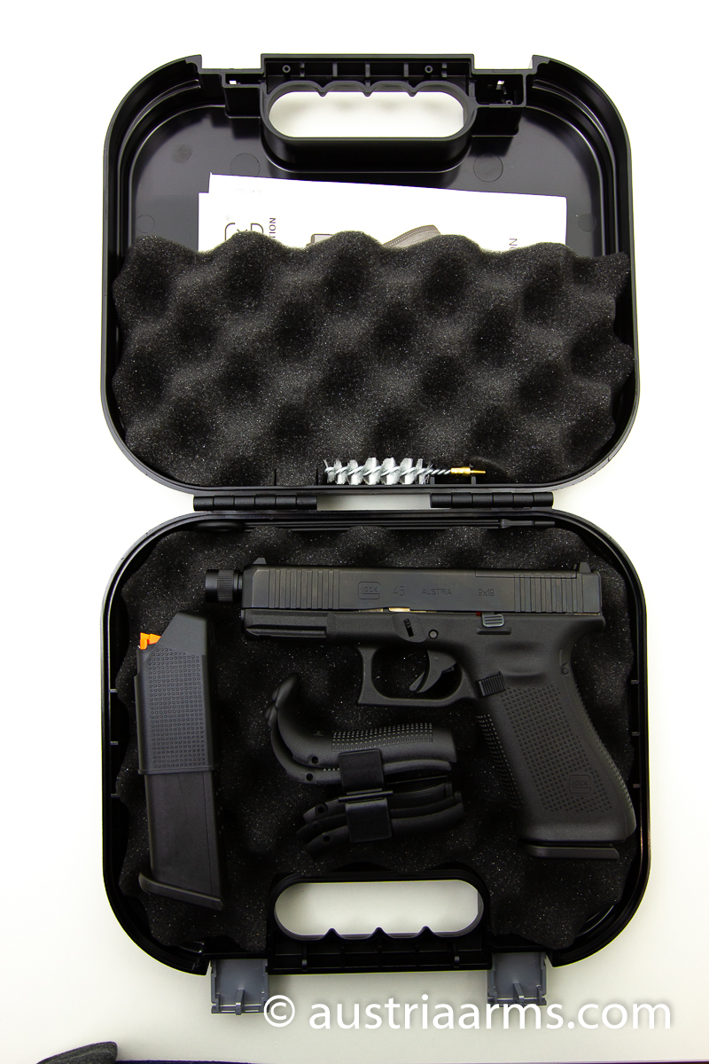 Glock 45 Gen 5 FS, OR/Optics Ready, Tactical Gewindelauf, 9 x 19 mm - Image 4