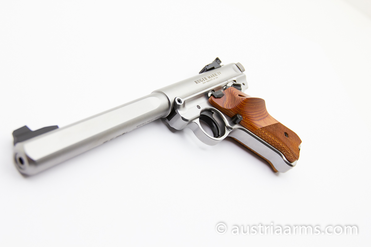 Ruger Mark IV Competition Stainless - Image 4