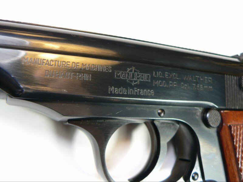Walther PP, Ulm / Manurhin,  7,65 mm - Image 5