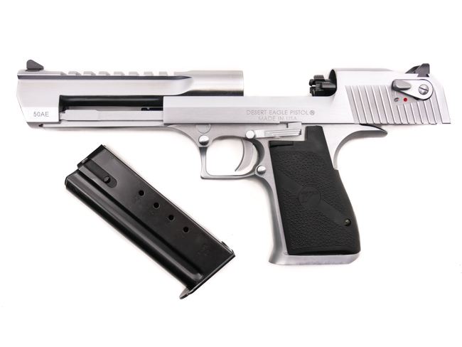 Desert Eagle, .50 Action Express, Brushed Chrome - Image 5