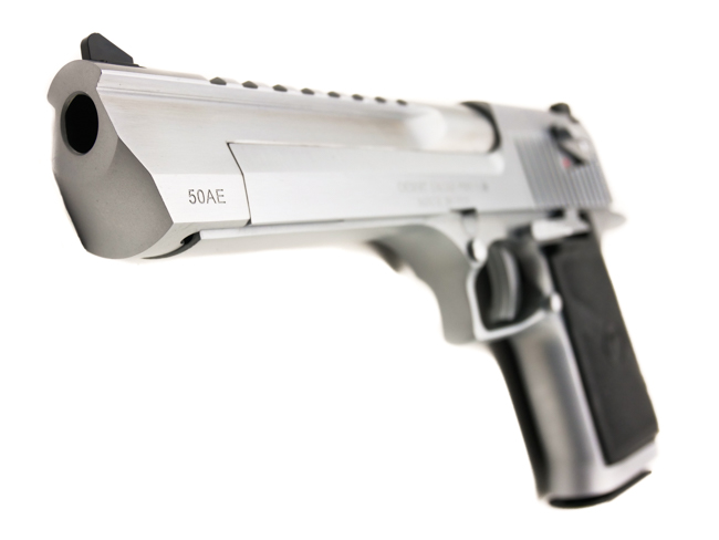 Desert Eagle, .50 Action Express, Brushed Chrome - Image 6