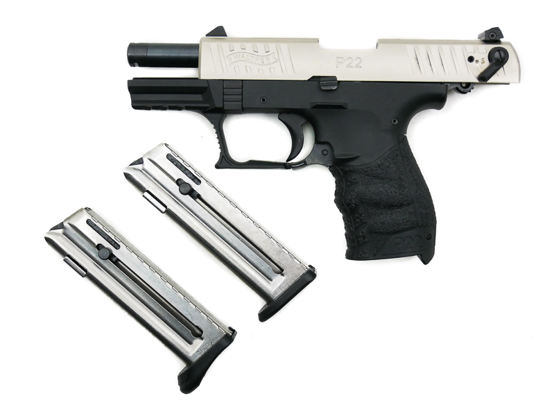 Walther P22Q Nickel, .22 LR - Image 6