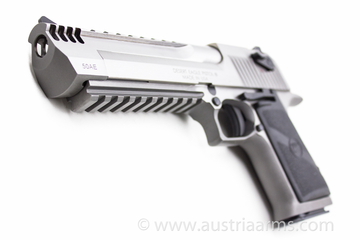 Desert Eagle XIX Stainless Steel Brushed, compensated .50 AE - Image 6