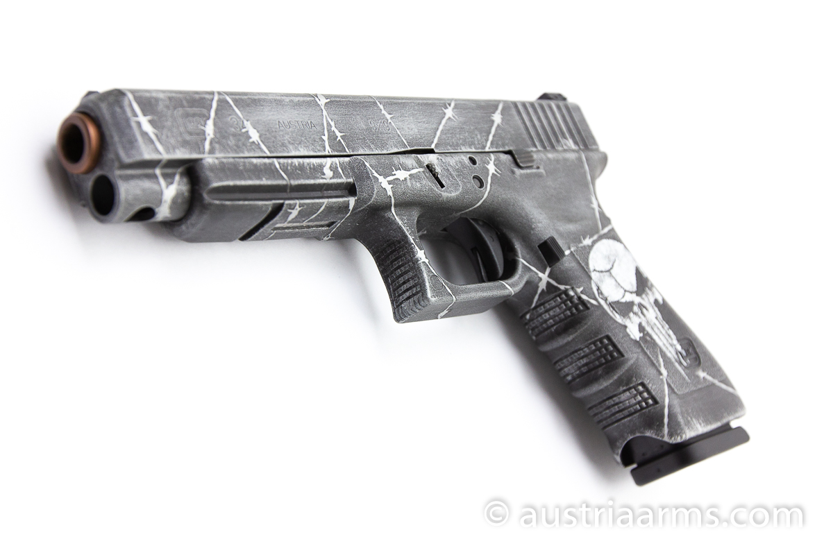 Glock 34 Custom Punisher, 9 x 19 mm - Image 6