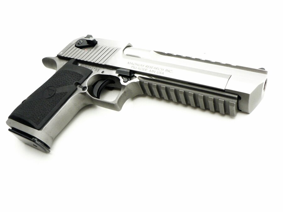 Desert Eagle XIX Stainless Steel Brushed, .50 Action Express - Image 7