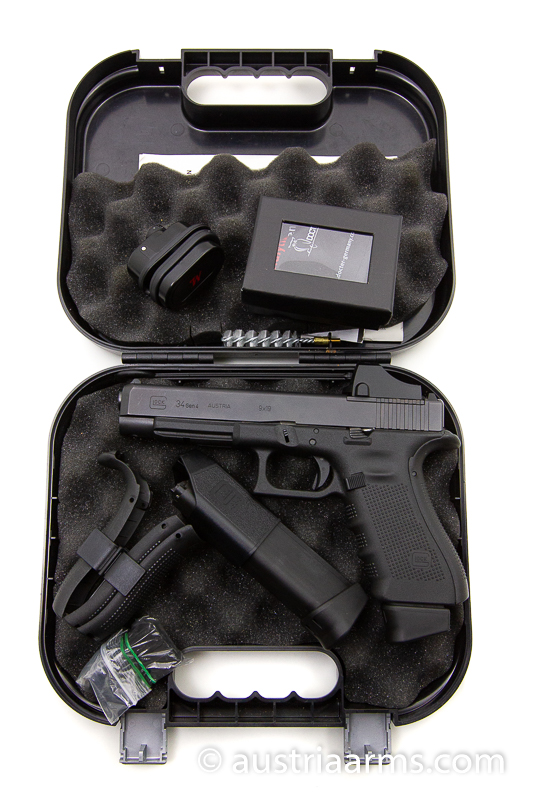Glock 34 MOS mit Docter Sight, 9 x 19 mm - Image 7